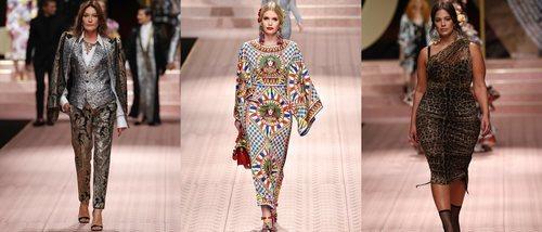 Carla Bruni, Kitty Spencer o Ashley Graham: Así ha sido la pasarela más reivindicativa de Dolce&Gabbana