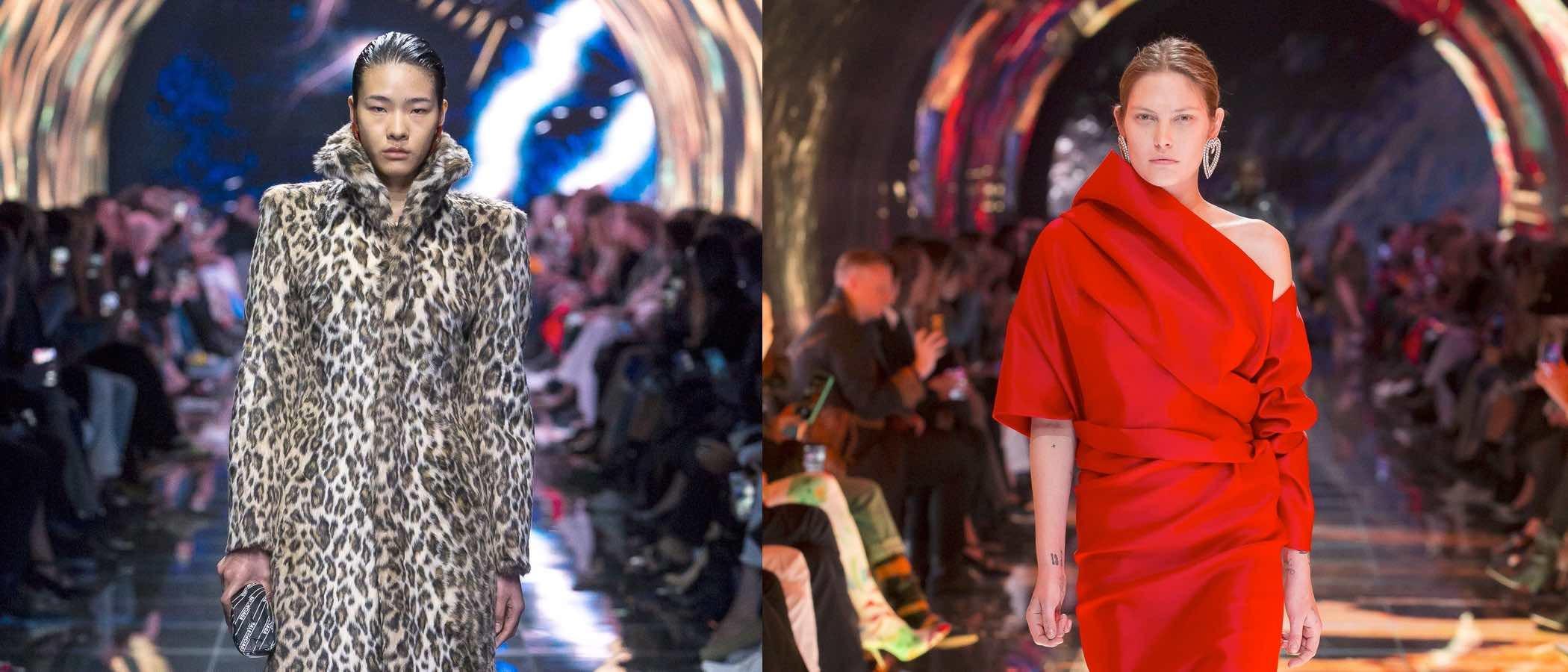 Balenciaga juega co los volúmenes en su colección primavera/verano 2019 en la Paris Fashion Week