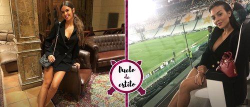 Cristina Pedroche y Georgina Rodríguez se decantan por la misma blazer de vestido. ¿A quién le sienta mejor?