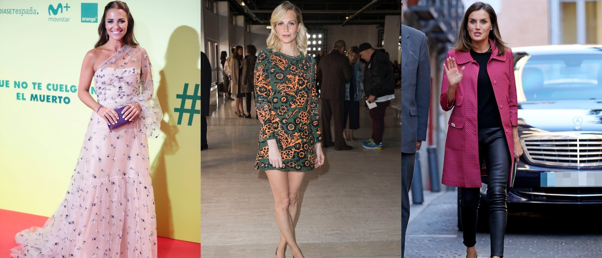 Paula Echevarría, Poppy Delevingne y la Reina Letizia, entre las mejor vestidas de la semana