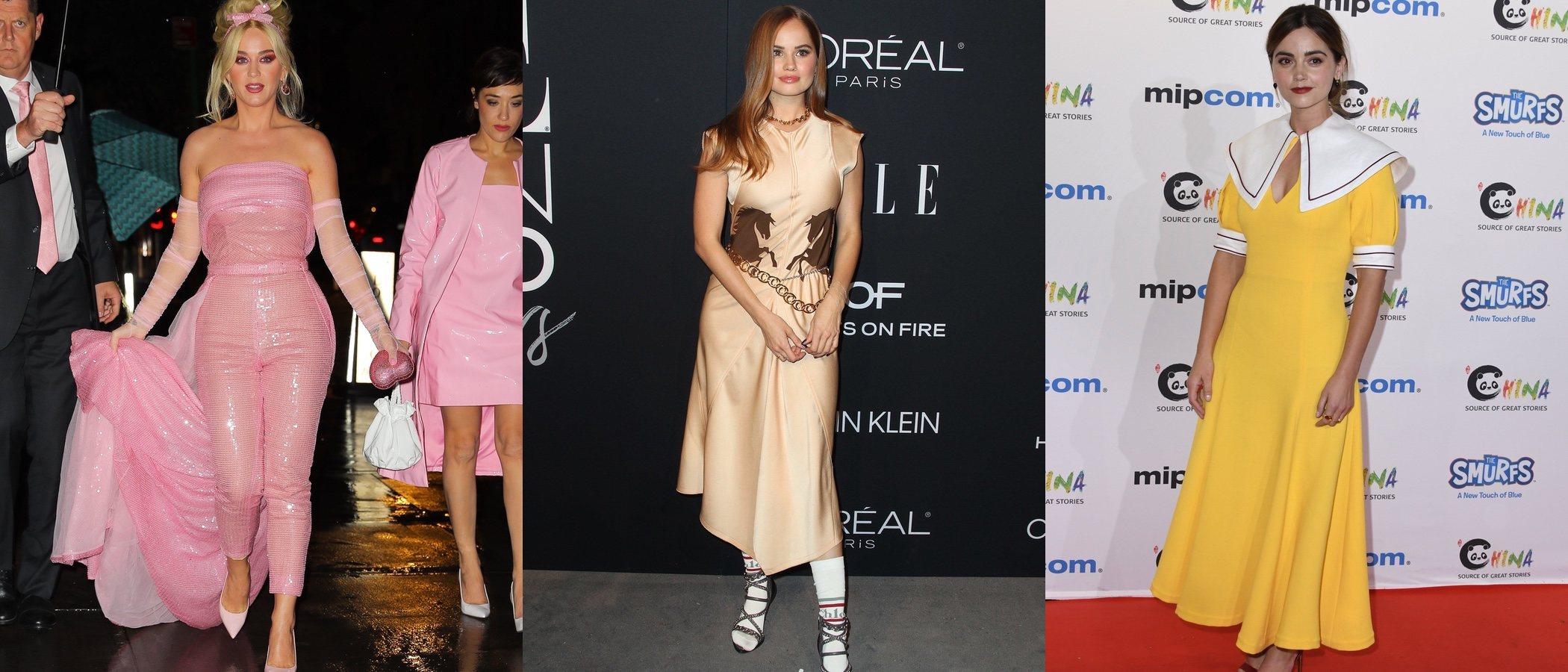 Katy Perry, Debby Ryan y Jenna Coleman entre las peor vestidas de la semana