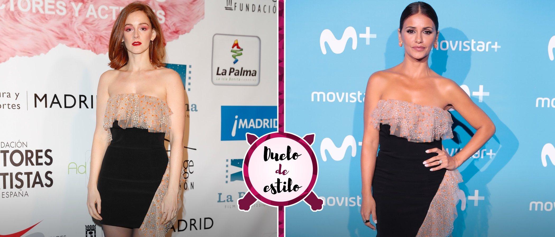 Ana Polvorosa y Mónica Cruz apuestan por el mismo diseño de Pedro del Hierro. ¿A quién le sienta mejor?