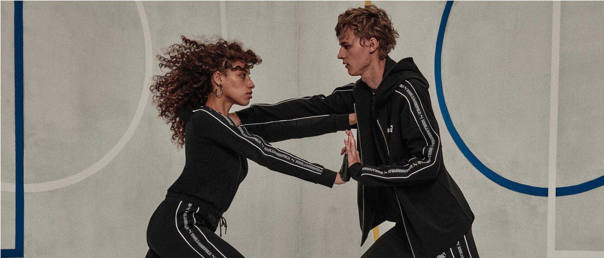 Karl Lagerfeld anuncia su primera línea deportiva en colaboración con Puma