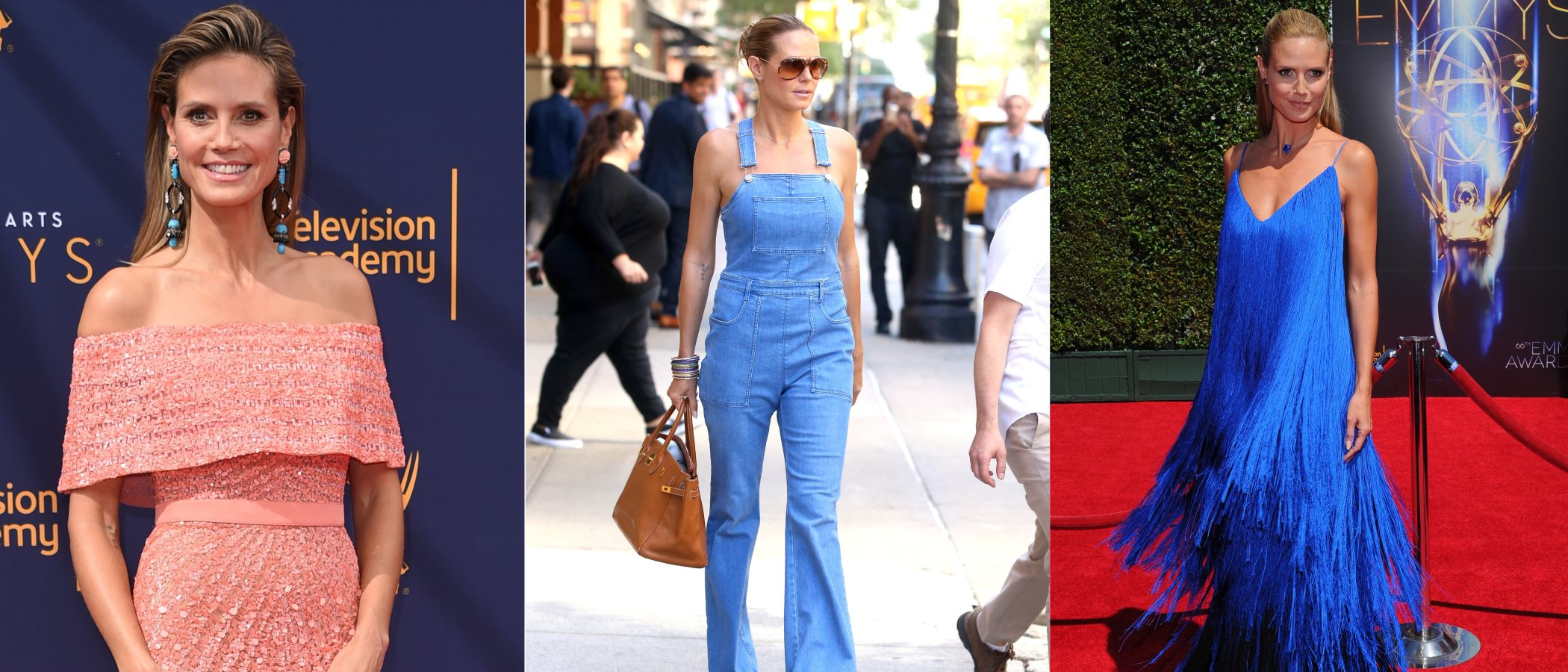 La evolución de estilismos de Heidi Klum, icono de la moda y reina de Halloween