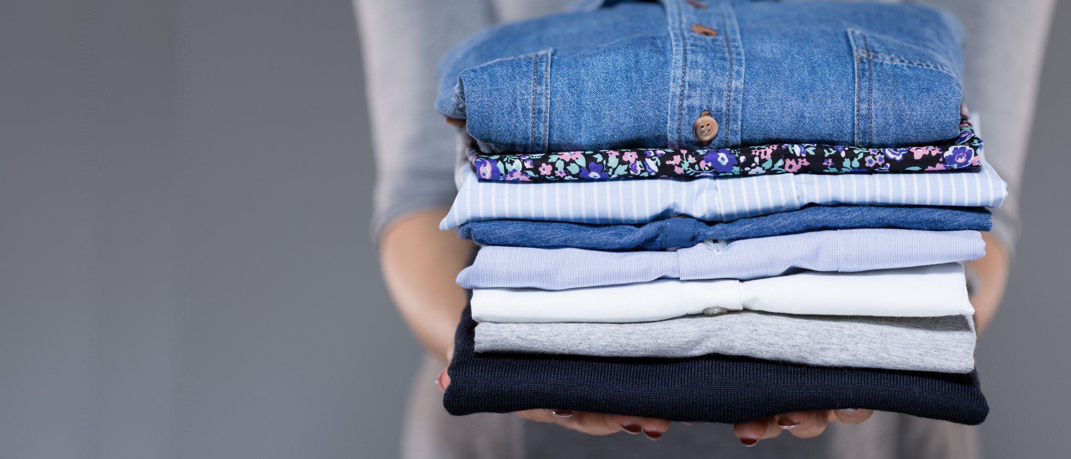Cómo doblar la ropa correctamente