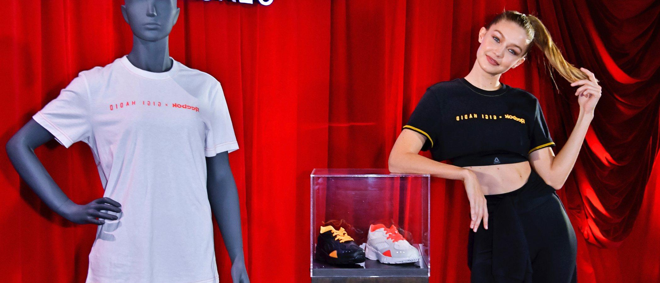Reebok x Gigi Hadid: embajadora y nueva codiseñadora