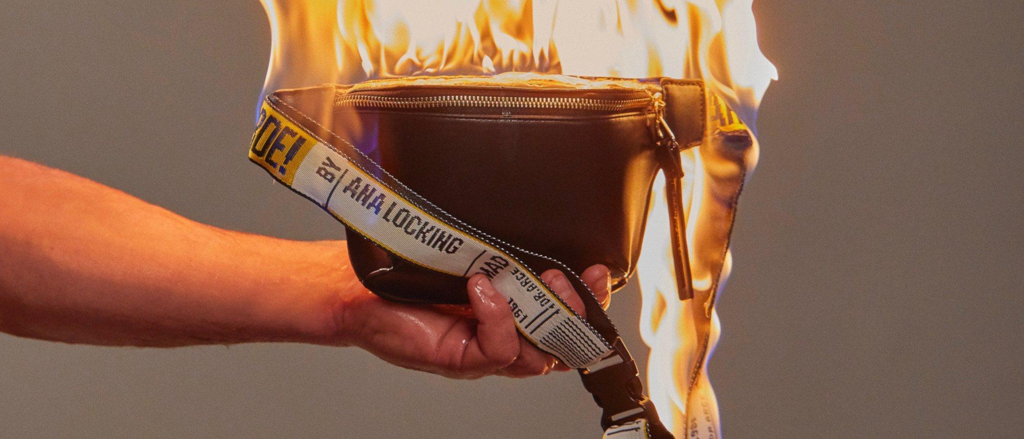 Ardiente y con personalidad, así es la colección cápsula de Ana Locking inspirada en 'Arde Madrid'