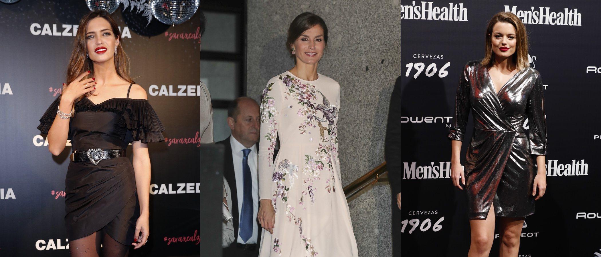 La Reina Letizia, Sara Carbonero y Adriana Torrebejano lucen los mejores looks de la semana