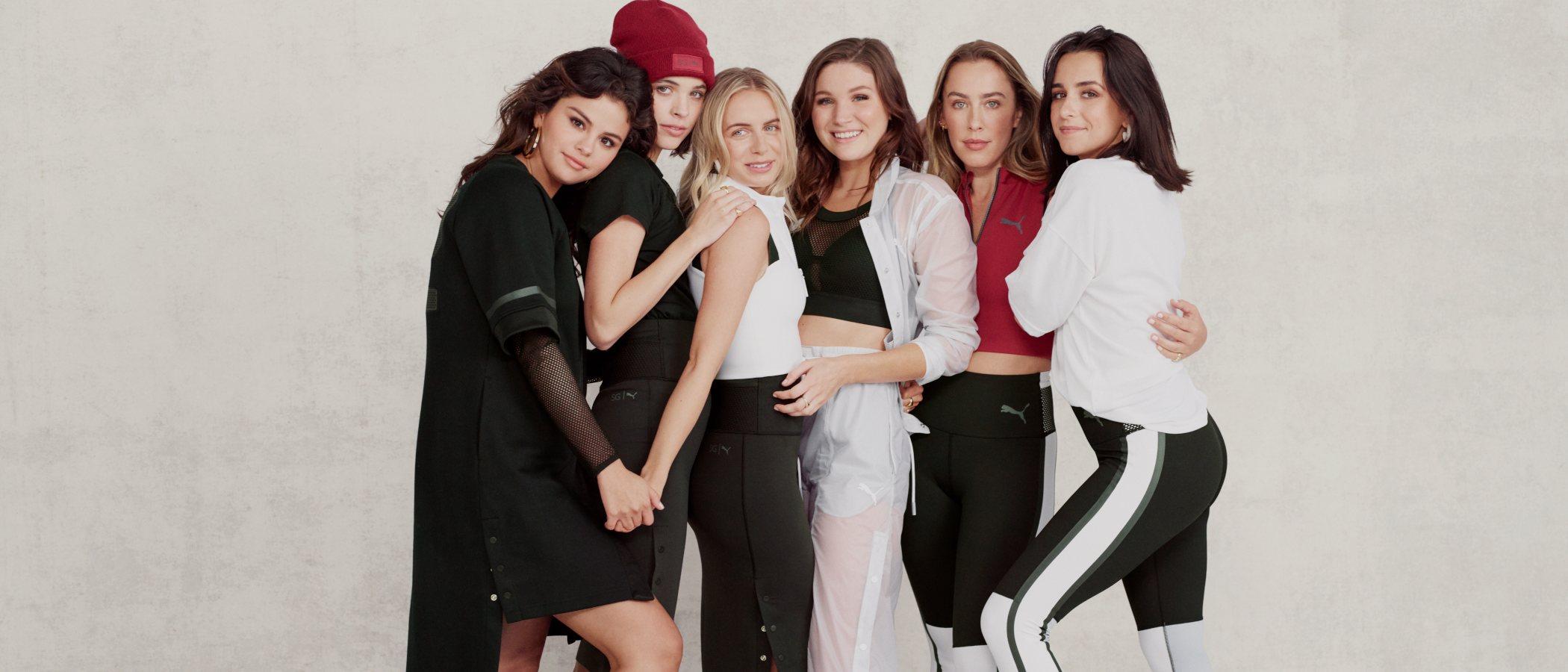 'Strong Girl', así es la nueva colección de Puma diseñada por Selena Gomez