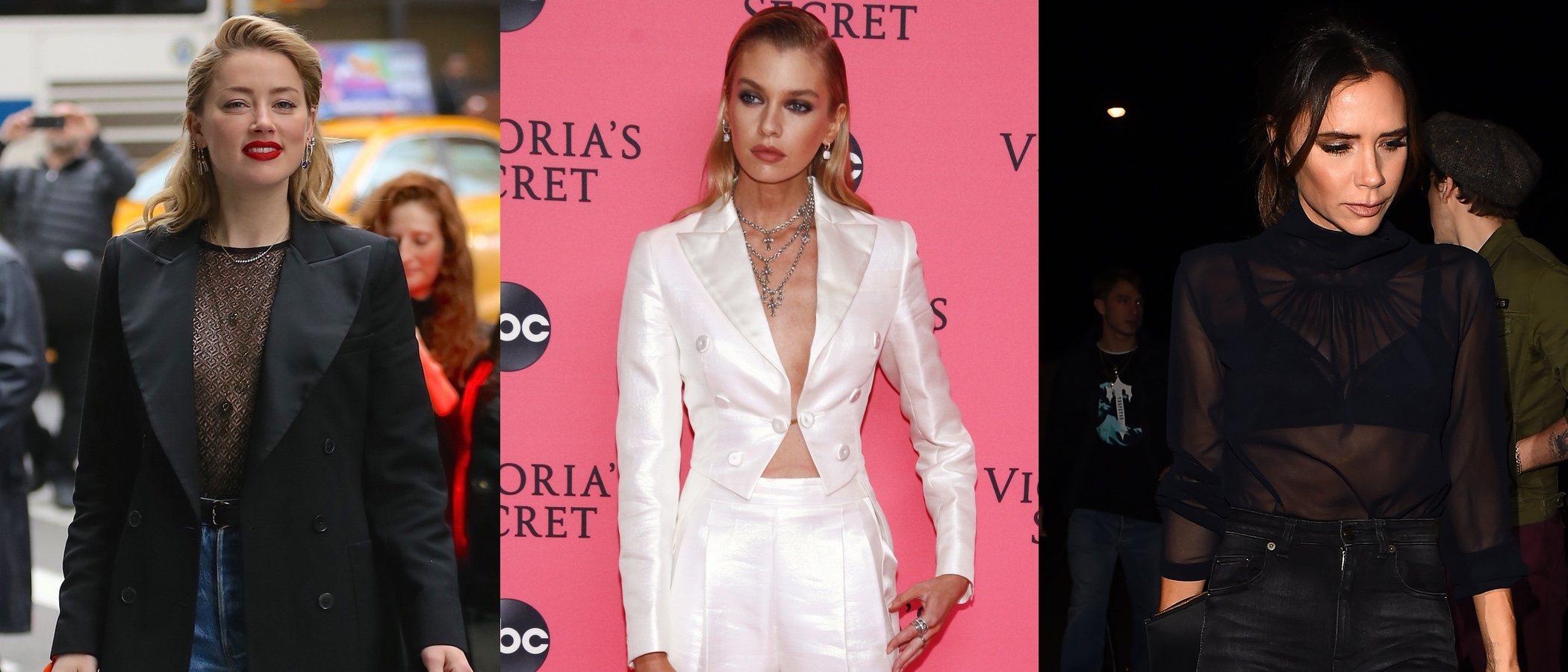 Stella Maxwell, Victoria Beckham y Amber Heard deslumbran con los mejores looks de la semana