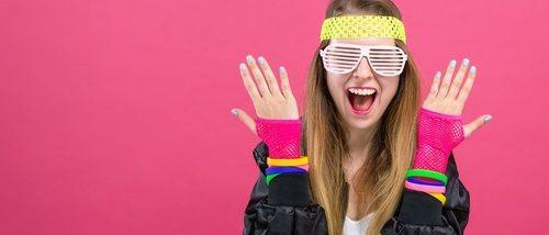 Cómo vestirse para una fiesta de los años 80
