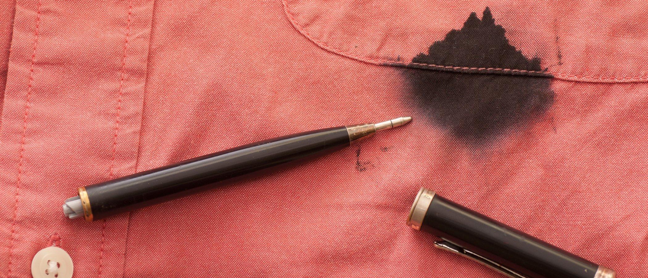 Cómo quitar manchas de bolígrafo de la ropa