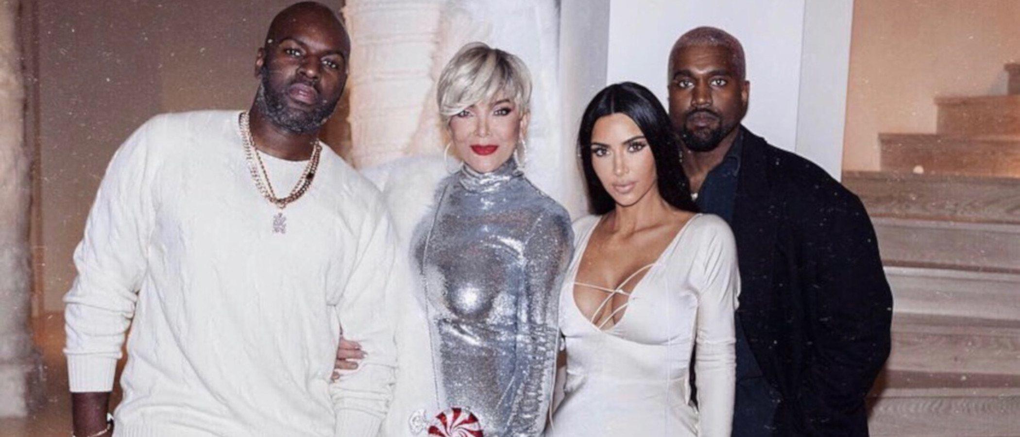 La camiseta de 5.000 dólares con la que los Kardashian-West sorprendieron a sus invitados en Navidad