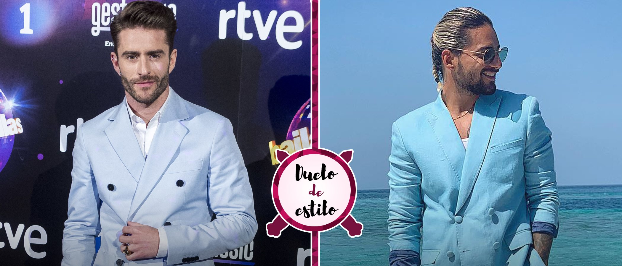 Duelo de estilo: ¿A quién le sientan mejor los looks de Pelayo Díaz? ¿A Pelayo Díaz o a Maluma?