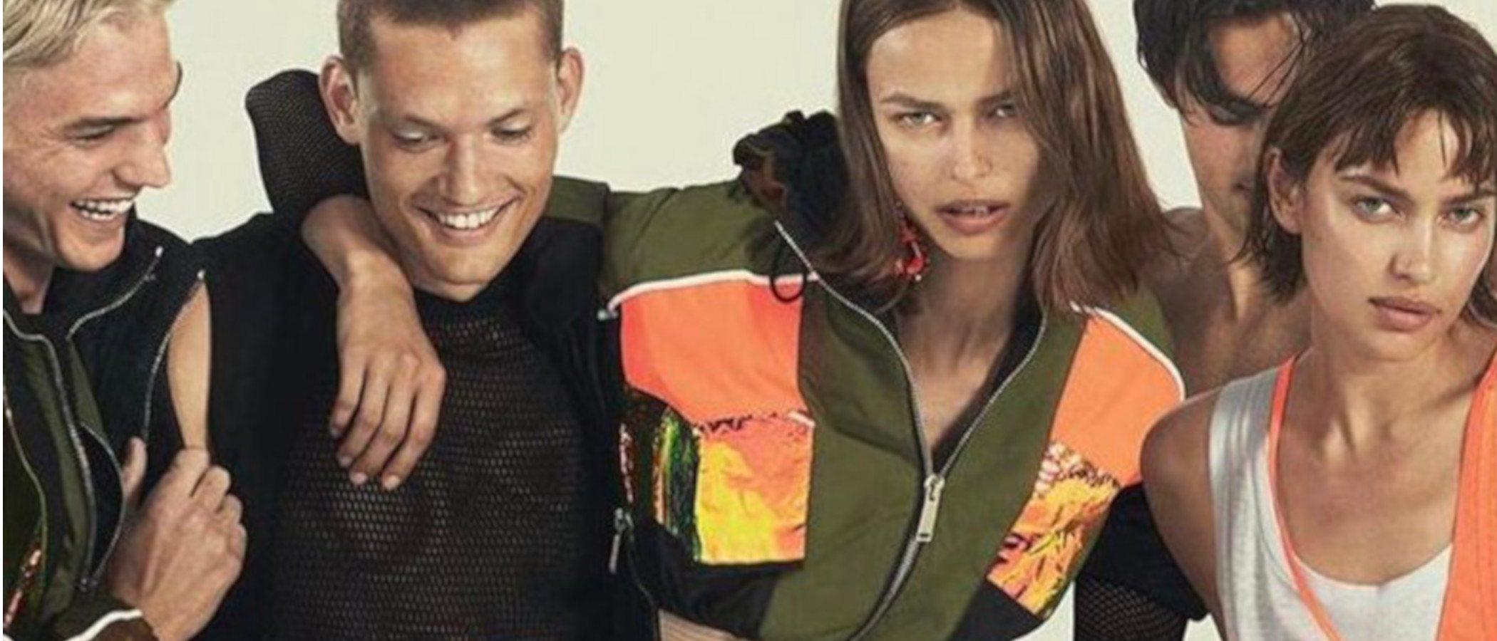Dsquared2 confía en Irina Shayk para la campaña de su colección primavera/verano 2019