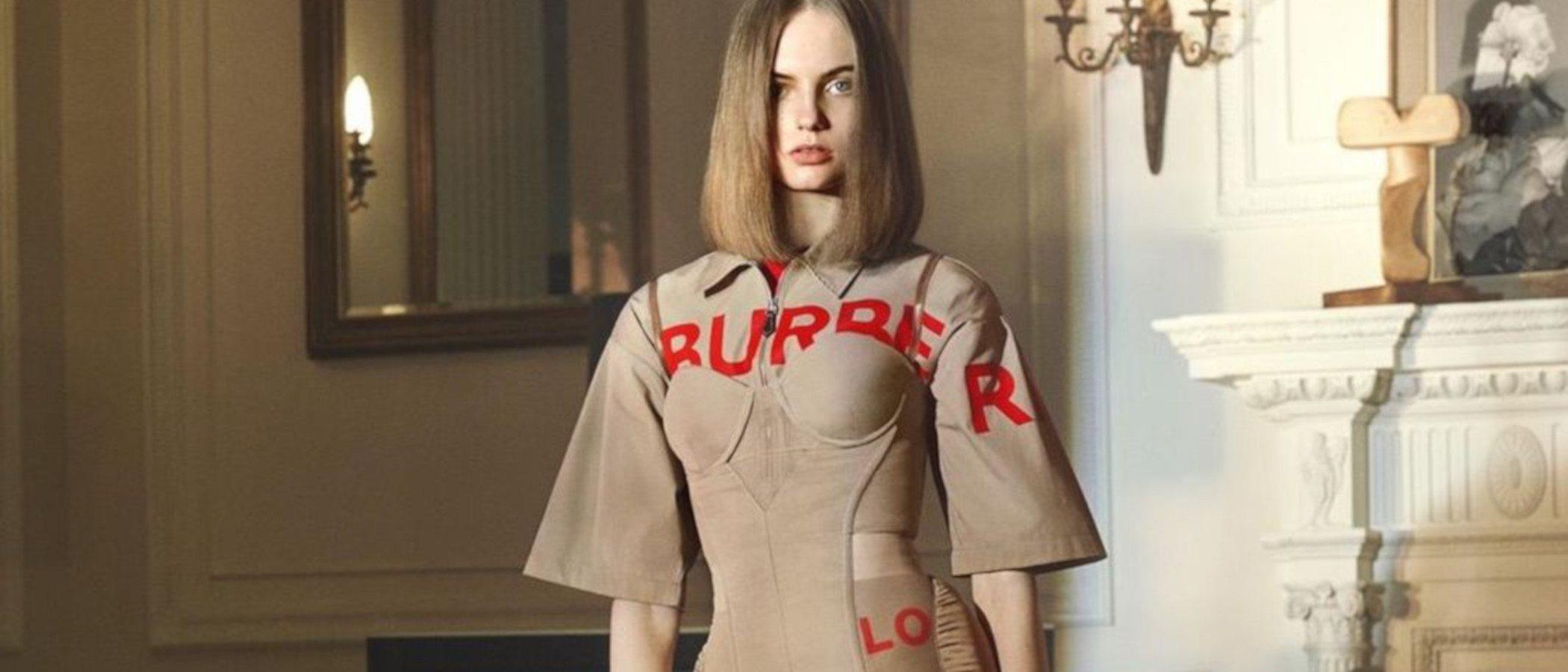 Irina Shayk y Ricardo Tisci trabajan juntos en la primera campaña del diseñador para Burberry