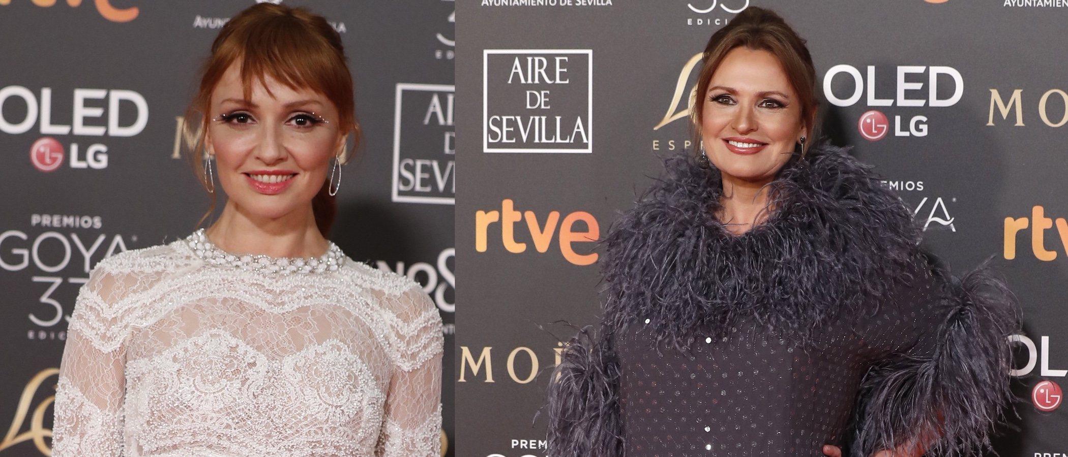 Ainhoa Arteta y Cristina Castaño, entre las peor vestidas de los Premios Goya 2019