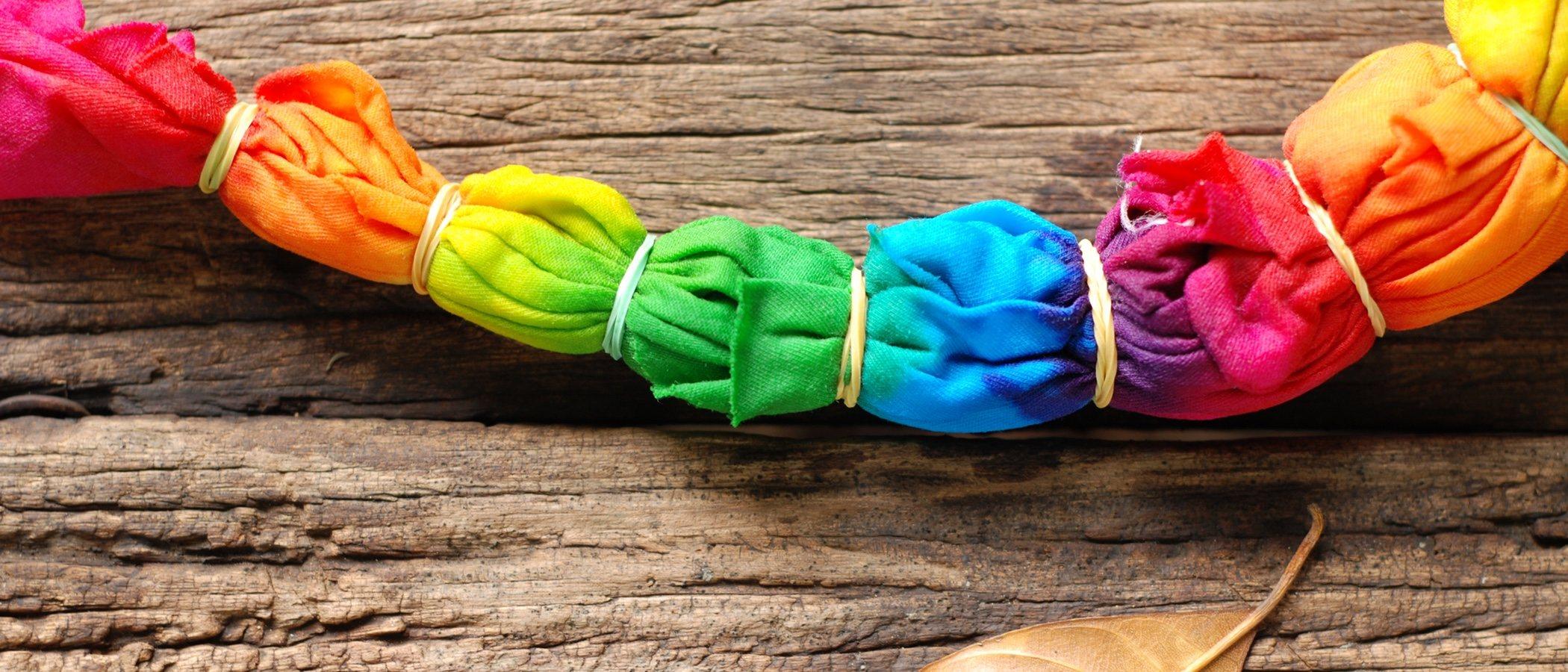 Cómo hacer tu propia ropa Tie Dye