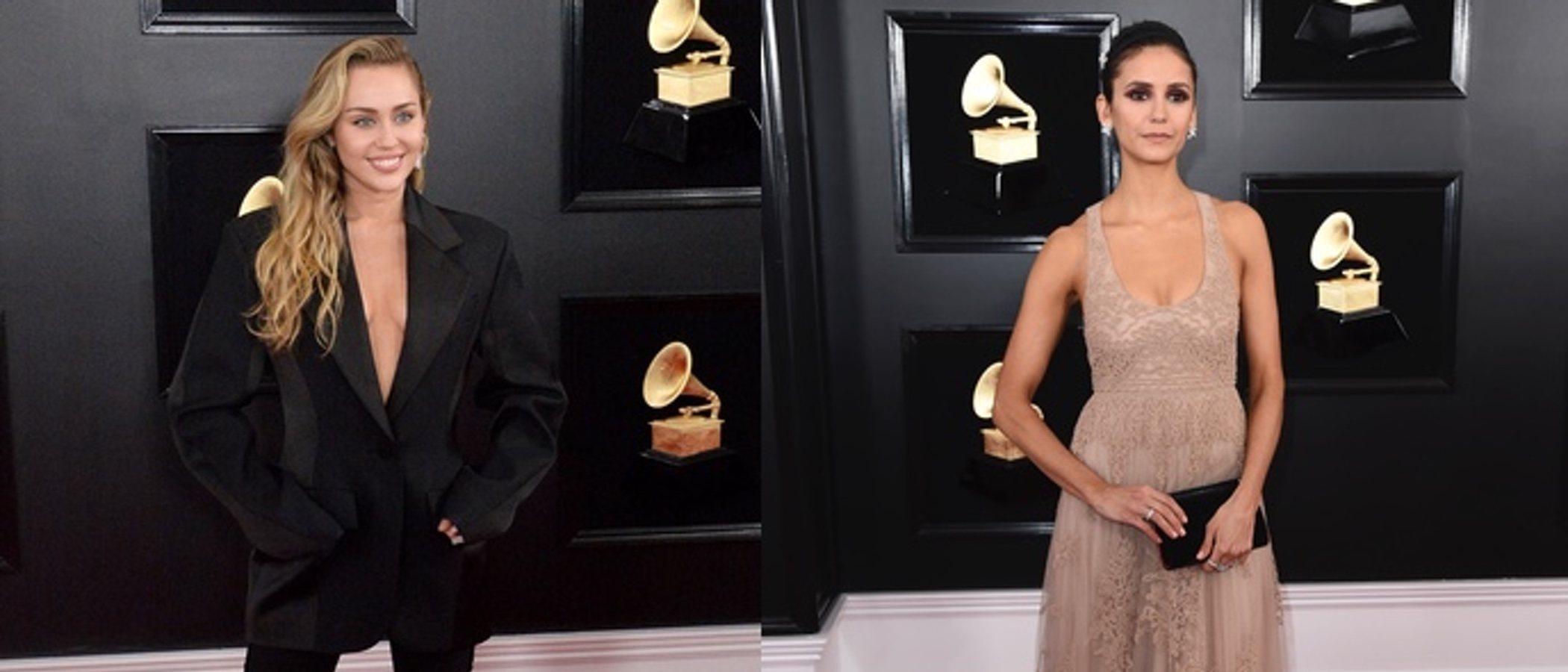 Miley Cyrus, Nina Dobrev y Tori Kelly, entre las mejor vestidas de los Grammy 2019
