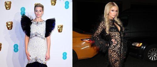 Paris Hilton y Margot Robbie, entre las peor vestidas de la semana