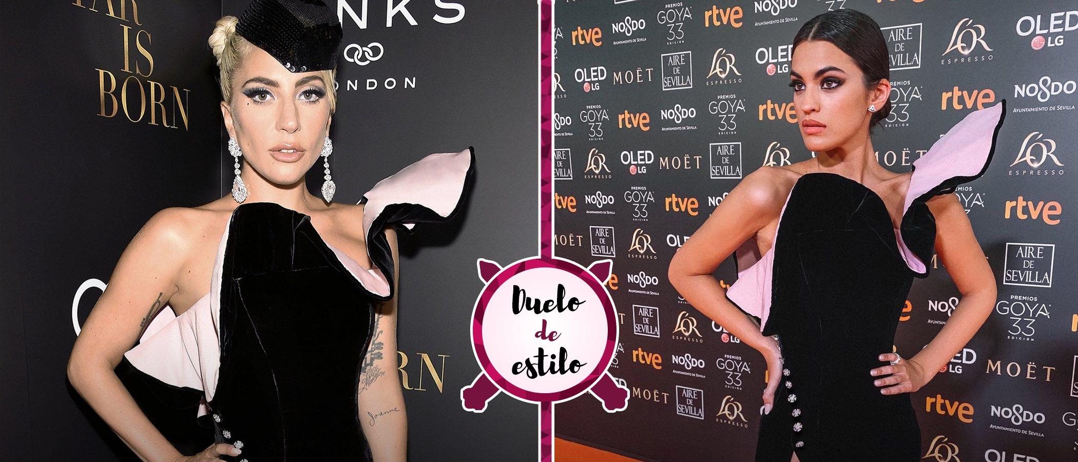Marta Lozano y Lady Gaga apuestan por el mismo Ralph and Russo para la alfombra roja. ¿Cuál te gusta más?