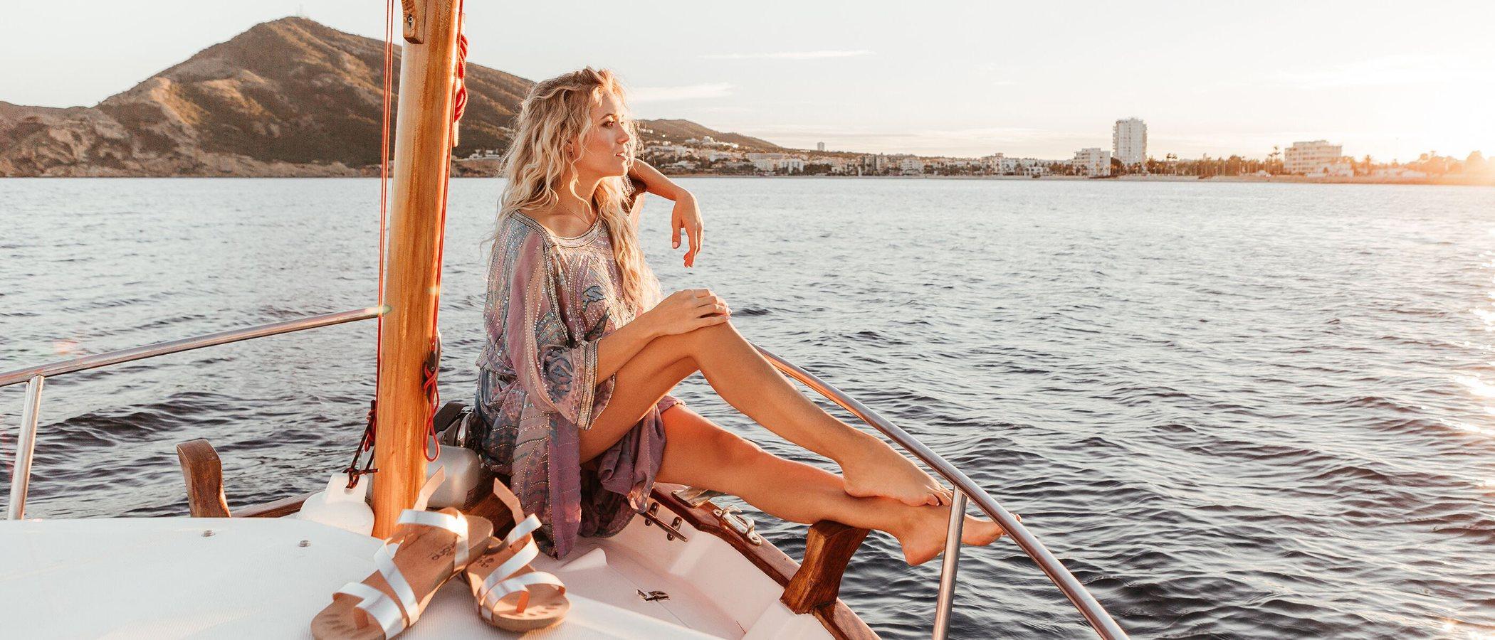 La costa del mediterráneo y Patricia Montero inspiran a Yokono para la colección primavera/verano 2019