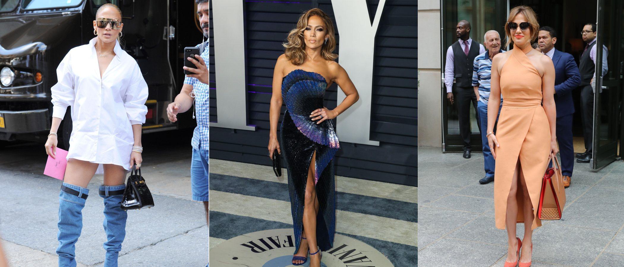 La evolución de estilismos de Jennifer Lopez: De una joven del Bronx a un icono del pop