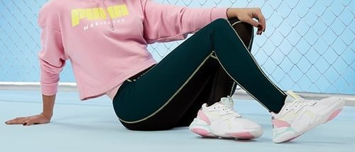 Cristina Pedroche lanza con Puma unas divertidas y coloridas zapatillas