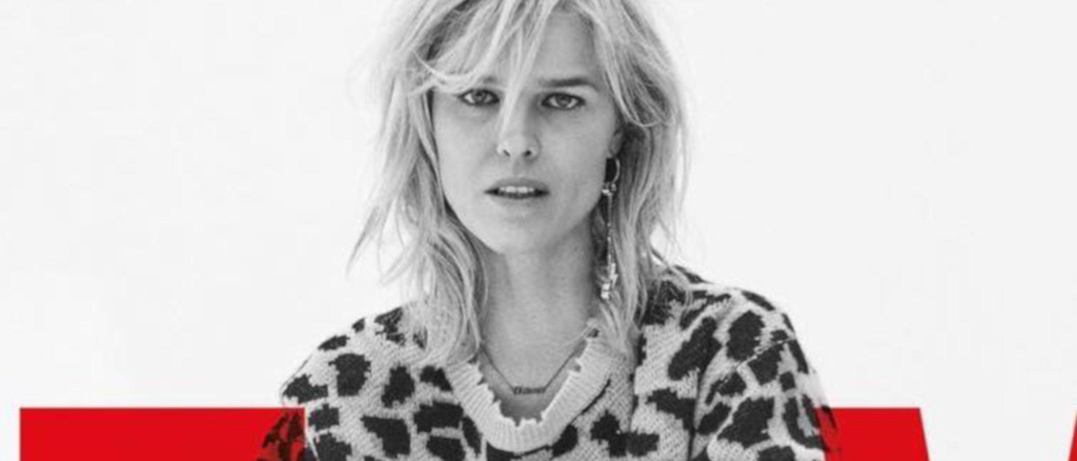 Eva Herzigová es el rostro de la campaña primavera/verano 2019 de Zadig & Voltaire