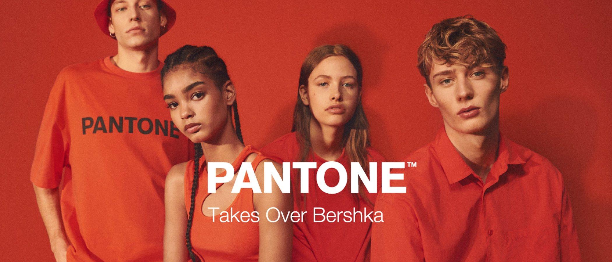 Los colores neón inundan la nueva colección de Bershka en colaboración con Pantone