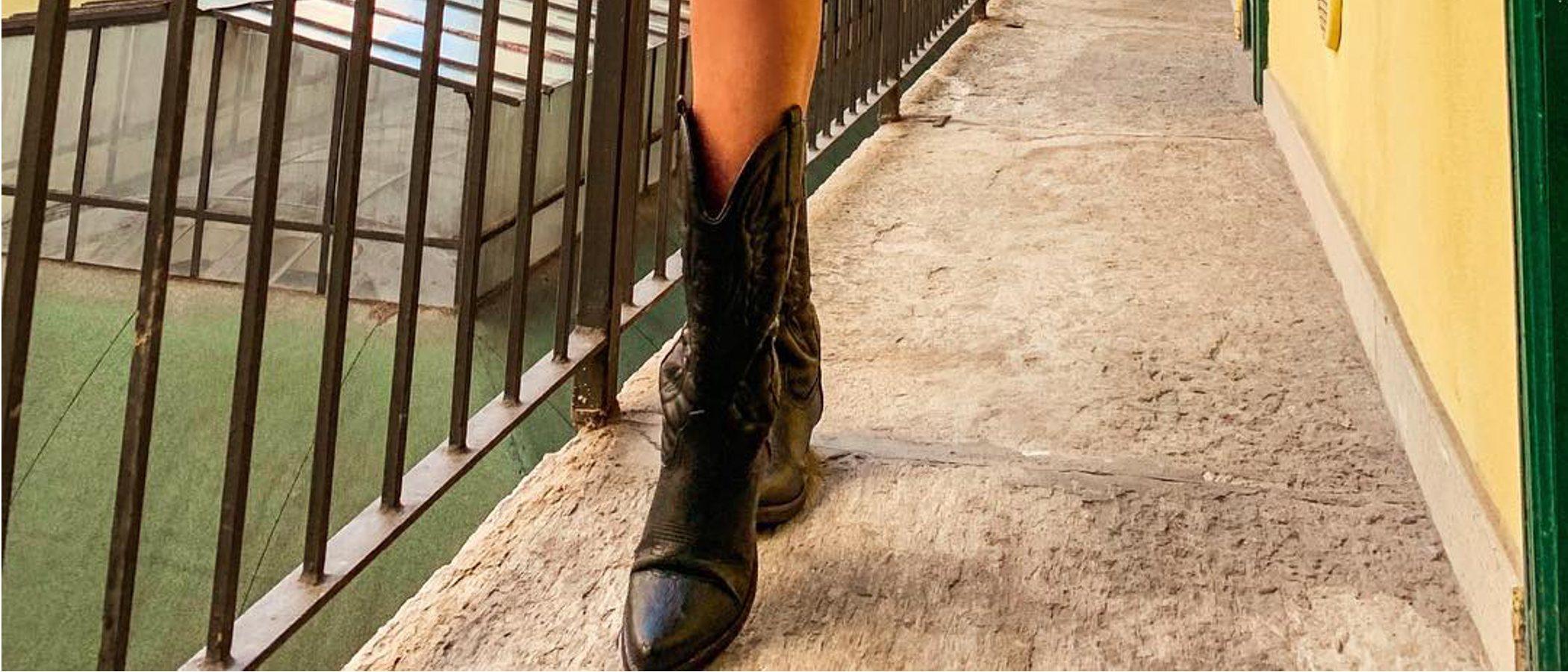 Tendencia del mes: botas estilo cowboy