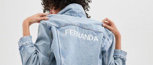 Zara presenta una línea de prendas vaqueras personalizables