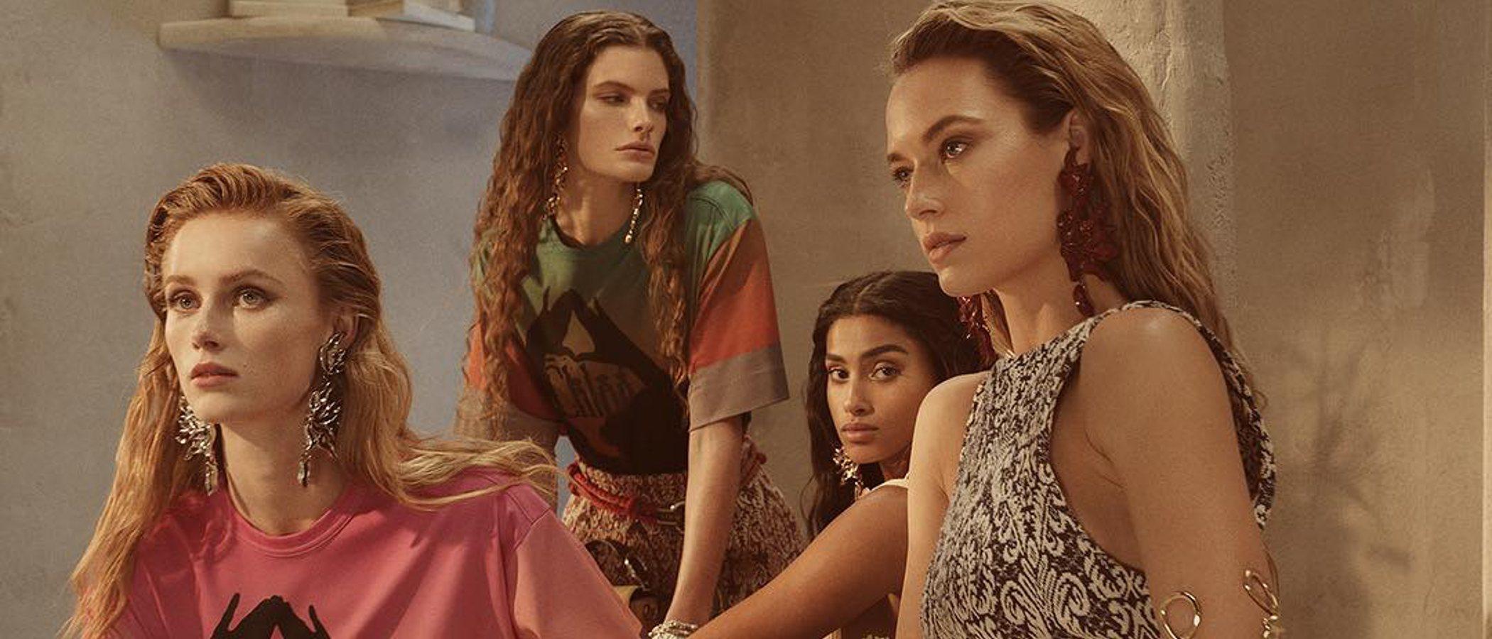 Sensualidad y la delicadeza: Gigi Hadid y Kendall Jenner en la colección primavera 2019 de Chloé