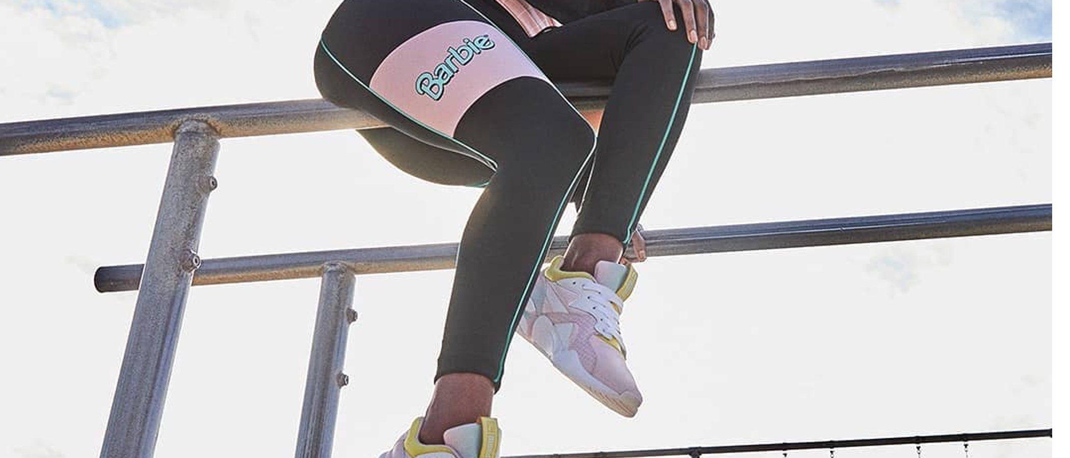 Puma X Barbie, una colección muy dulce y deportiva