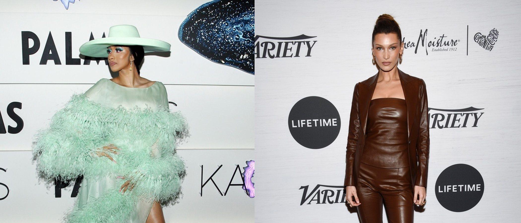 Cardi B y Bella Hadid entre los peores looks de la semana