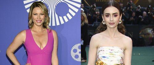 Kiera Chaplin y Lily Collins, entre las peor vestidas de la semana