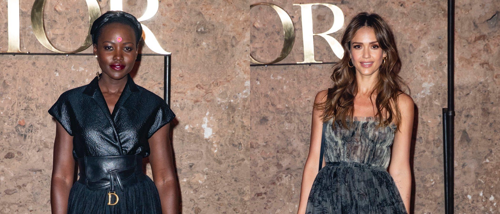 Jessica Alba y Lupita Nyong'o entre las mejor vestidas de la semana