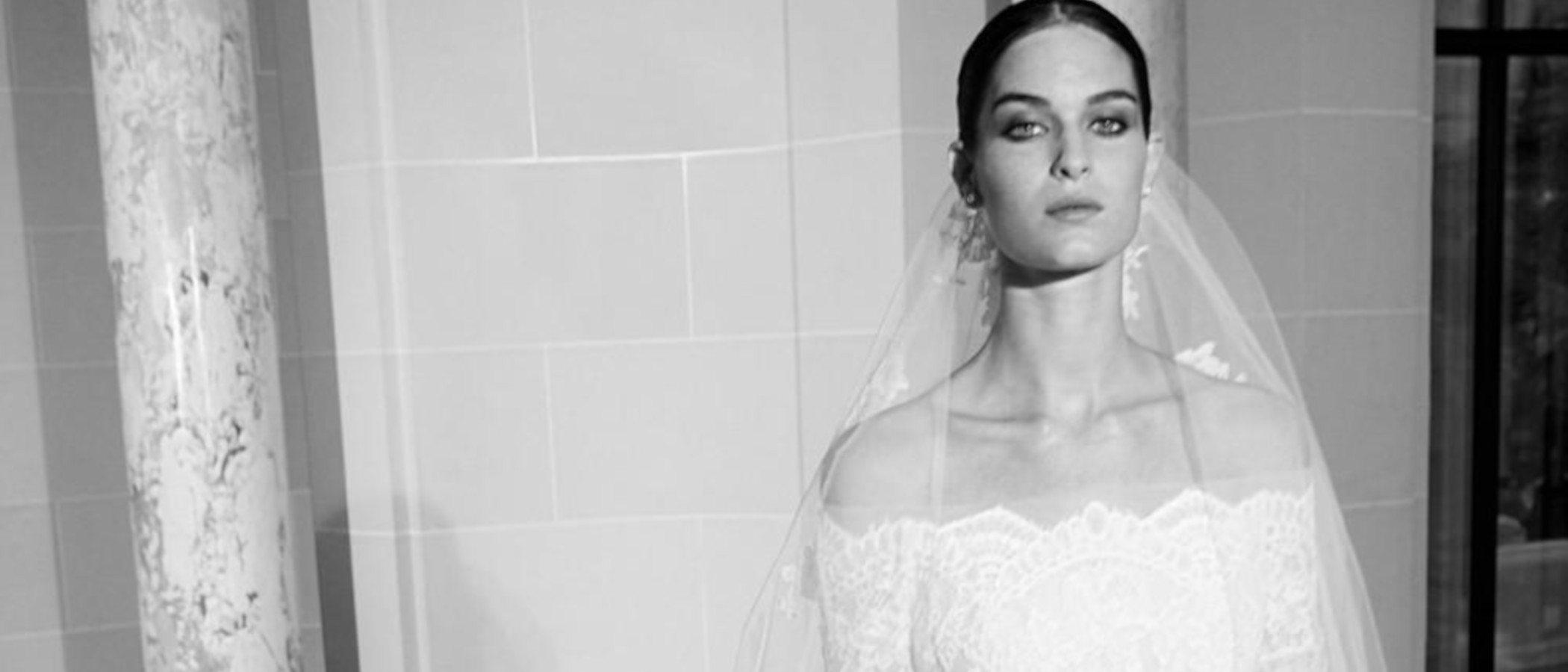 La sutileza es la clave de la nueva colección nupcial otoño 2019 de Elie Saab