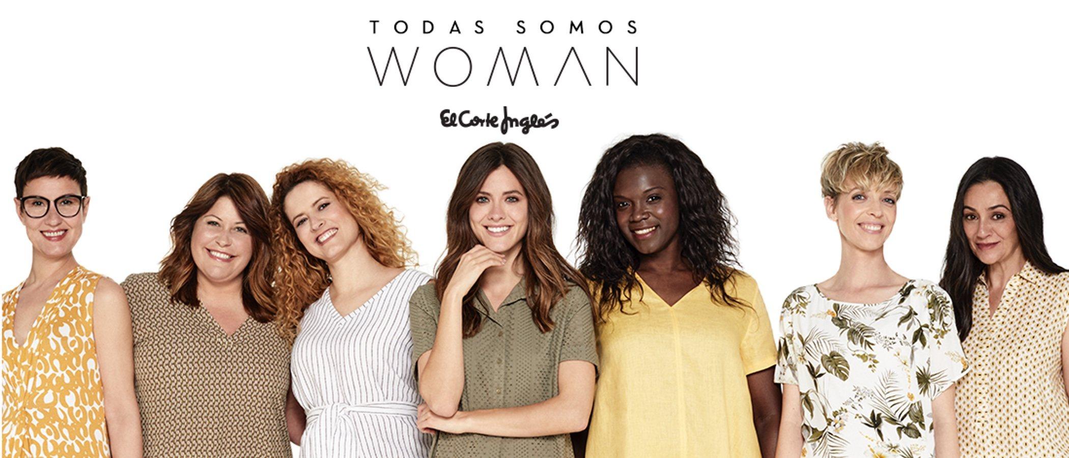 El Corte Inglés presenta la colección SS19 de 'Woman' con sus empleadas como modelos
