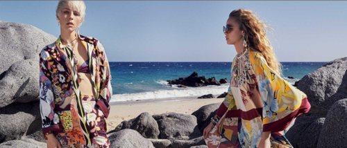 Etro crea un mundo caleidoscópico en su colección verano 2019