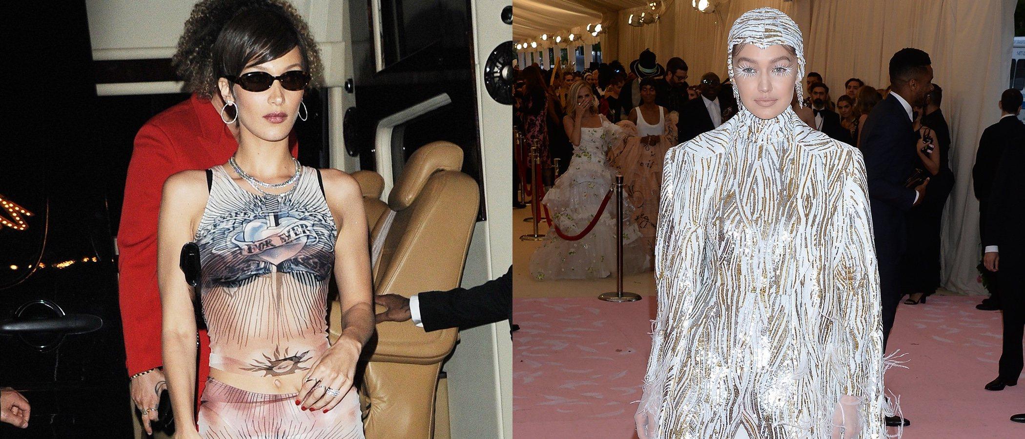 Gigi y Bella Hadid, entre las peor vestidas de la semana