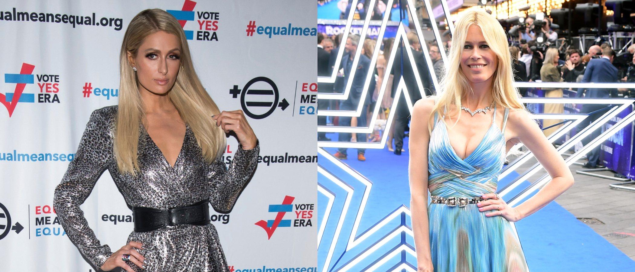 Paris Hilton y Claudia Schiffer entre los peores looks de la semana