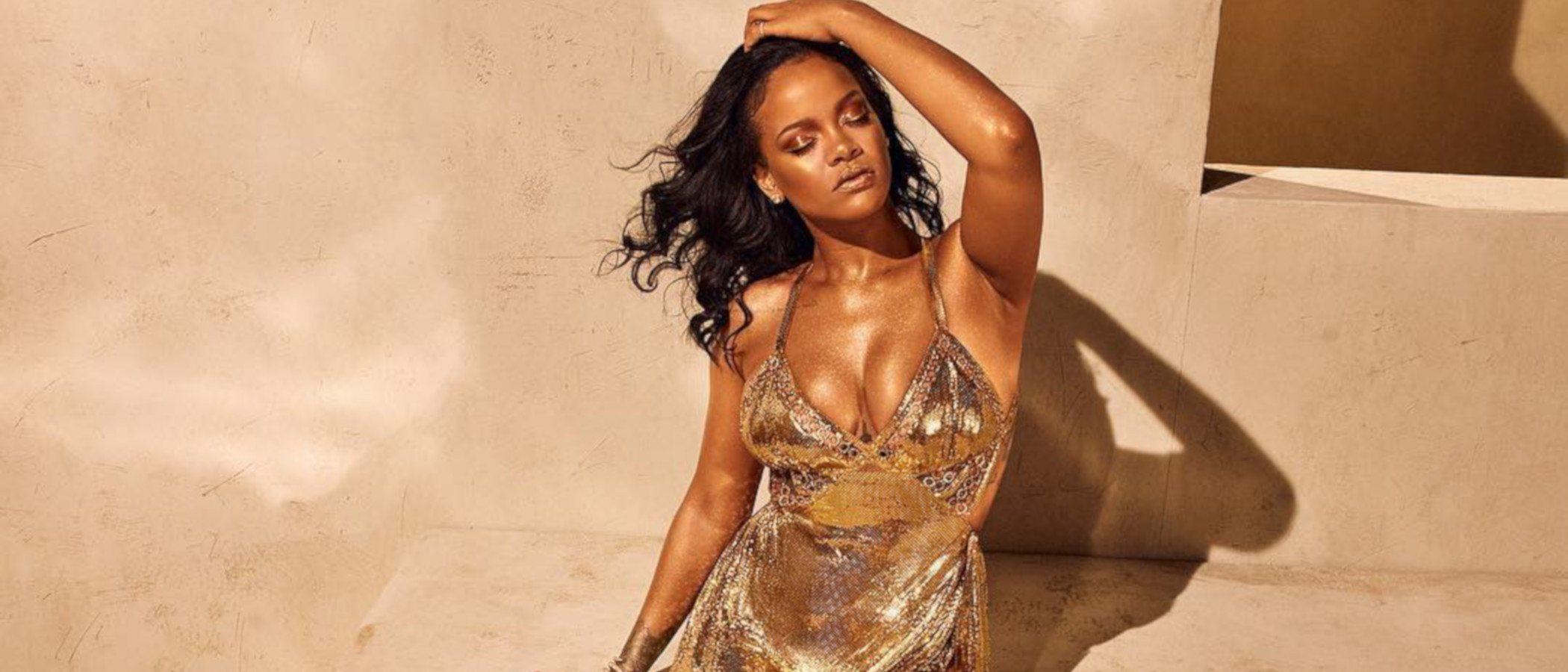 Rihanna hace historia lanzando su propia marca FENTY de la mano del grupo LVHM