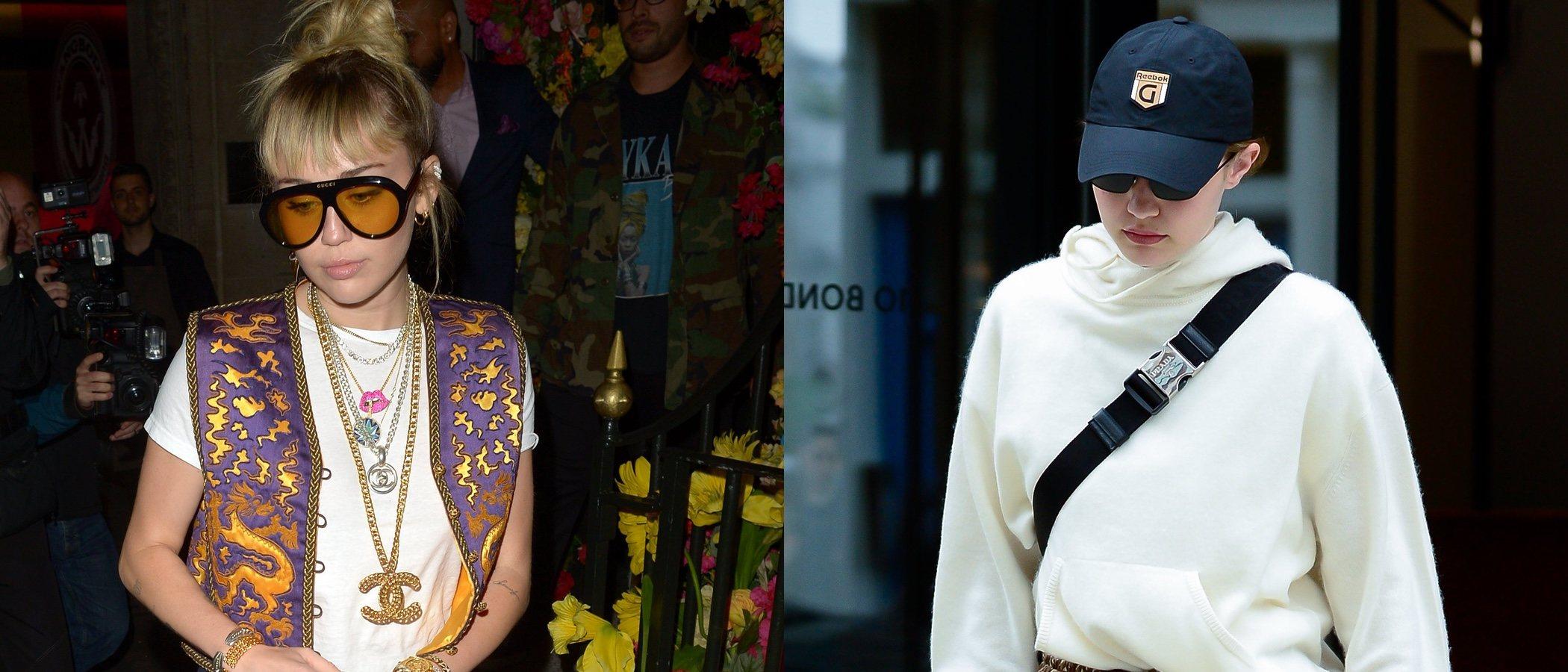 Miley Cyrus y Gigi Hadid, entre las peor vestidas de la semana