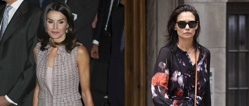 La Reina Letizia y Katie Holmes, entre las mejor vestidas de la semana