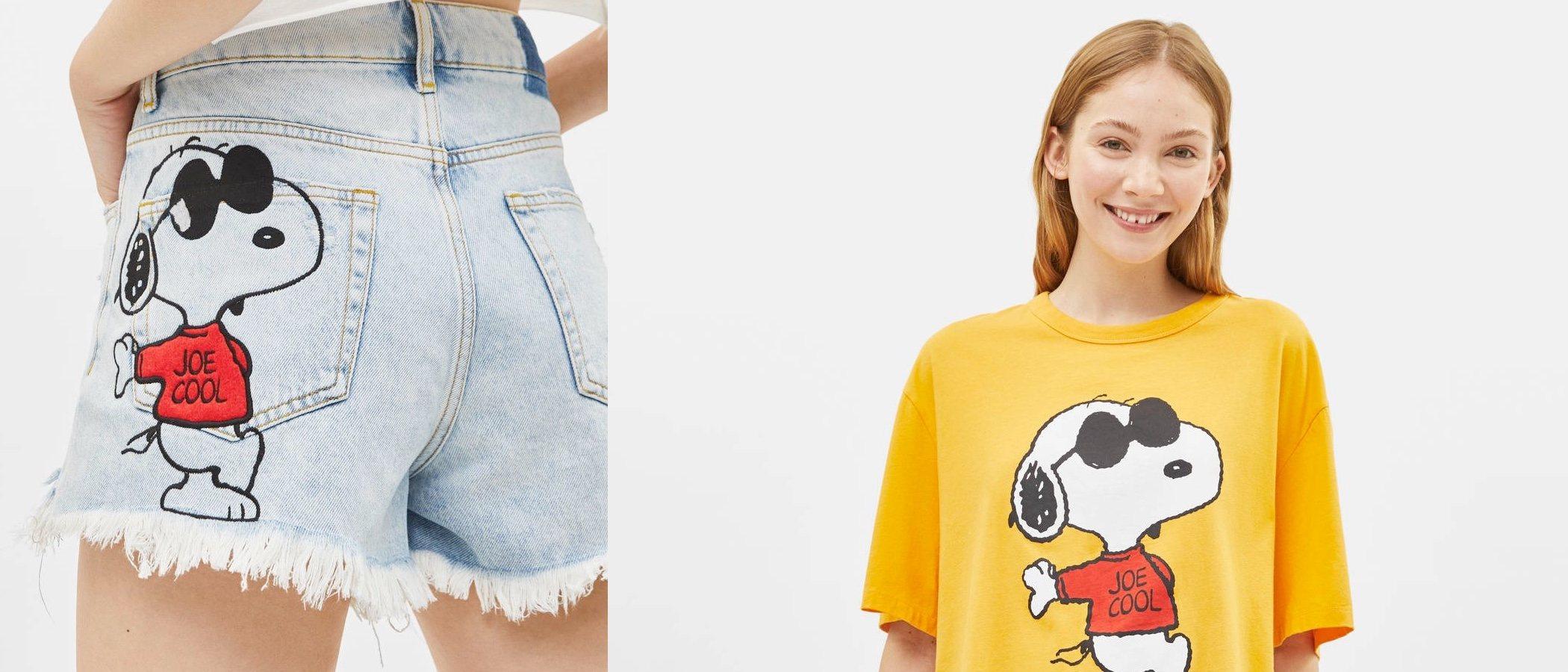 Bershka x Snoopy: nuestro perro favorito vuelve a estar de moda este verano 2019