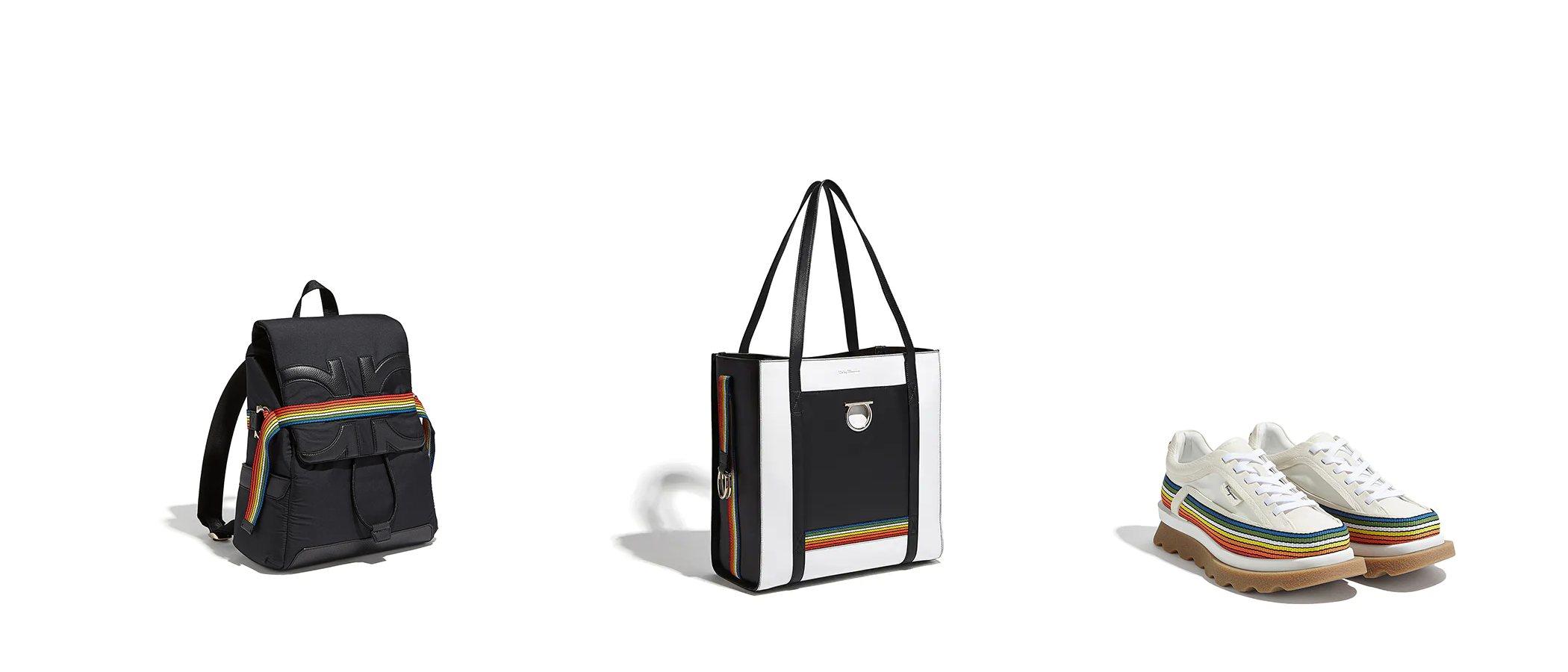 El lado más sostenible de Salvatore Ferragamo se refleja en su colección Rainbow con motivo del Orgullo 2019