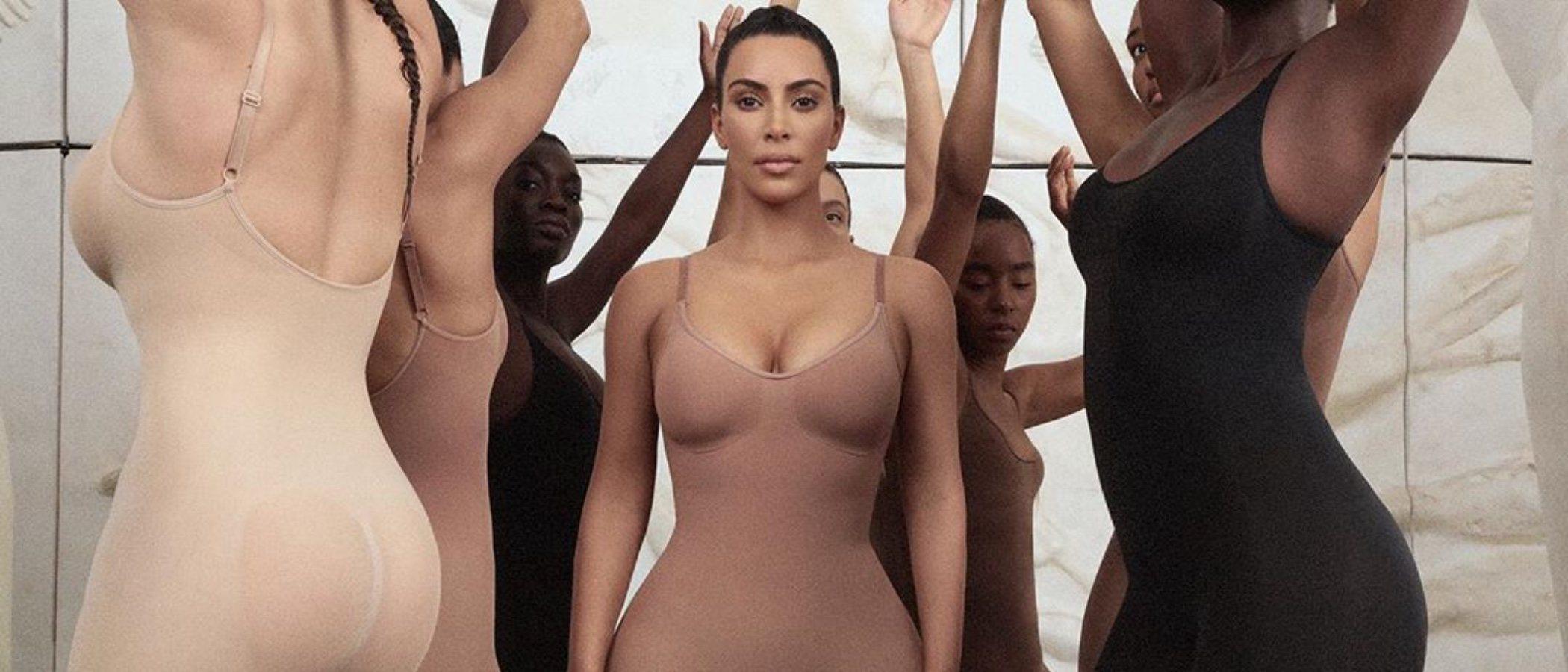 Kim Kardashian lanza una colección de fajas y arde Instagram