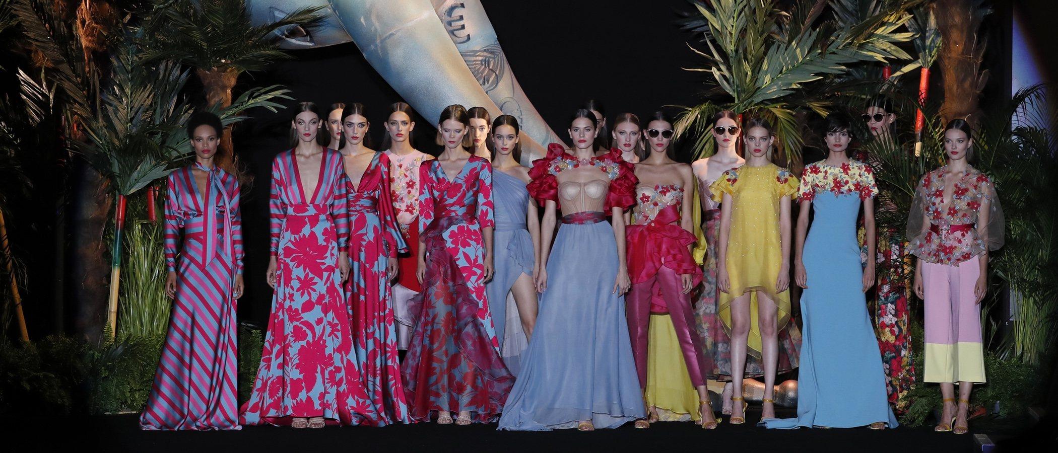 Hannibal Laguna representa la fotosíntesis de la moda en su nueva colección para la MBFWMadrid