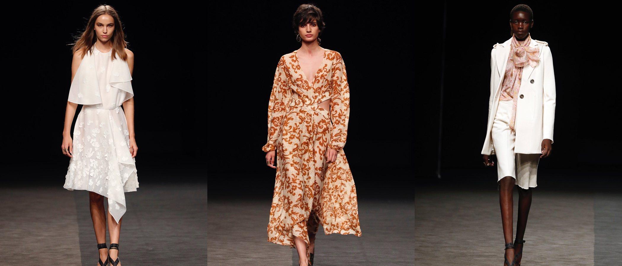 La silueta femenina se convierte en la musa de Roberto Torreta en la colección primavera/verano 2020
